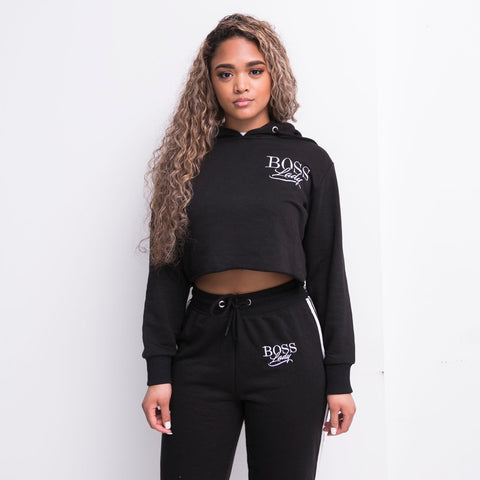 "BossLife ""BossLady"" Women Jogger Set - Black/White"