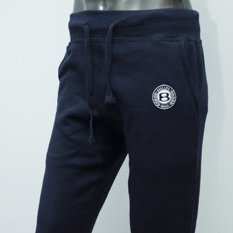 "BossLife ""Circle B"" Joggers - Navy/White/Black"