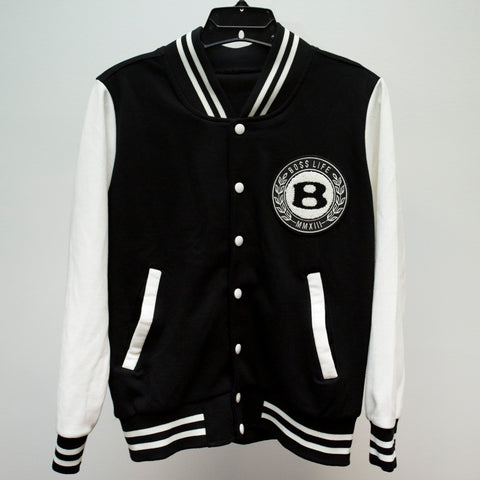 "BossLife ""Circle b"" Letterman Women's - Black/White"