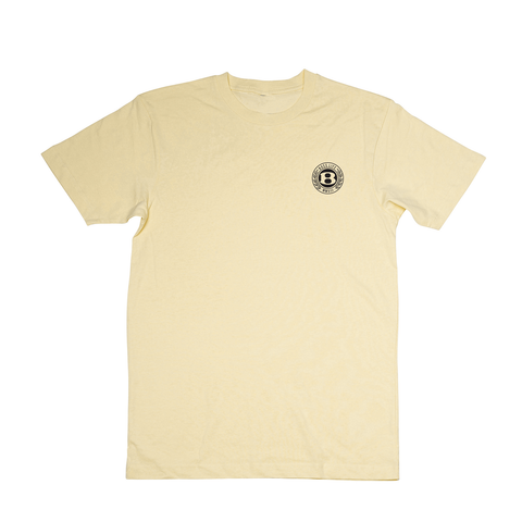 "BossLife ""Circle B"" Tee - Gold/Black"