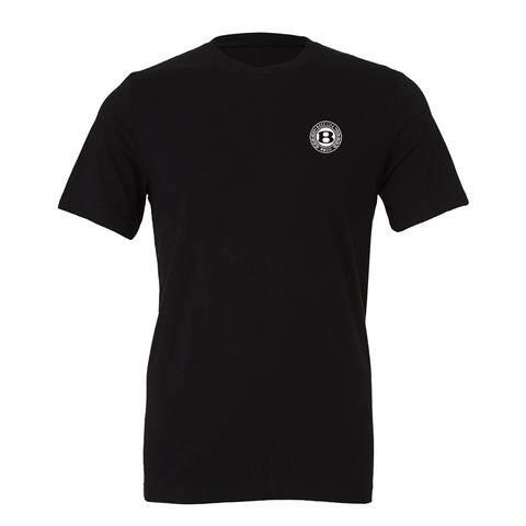 "BossLife ""Circle B"" Tee - Black/White"