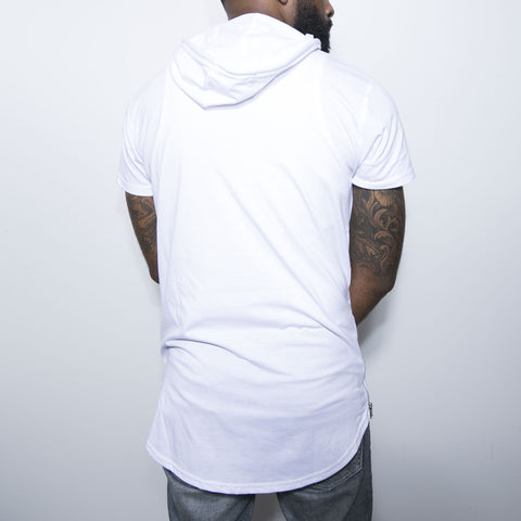 "BossLife ""World"" Elongated Tee - White"