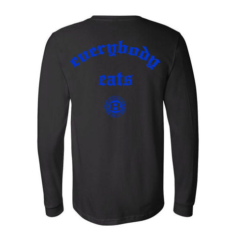 "BossLife ""Everybody"" Long Sleeve - Black/Royal"