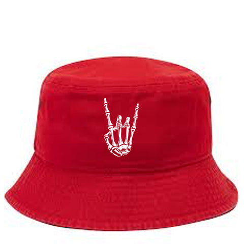 HoggLife Bucket Hat - Red/White