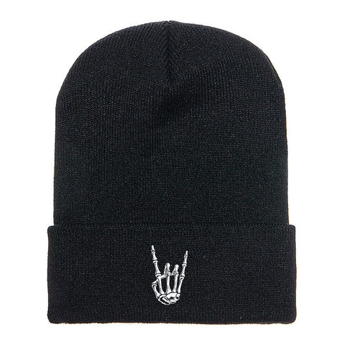 HoggLife Beanie - Black/White
