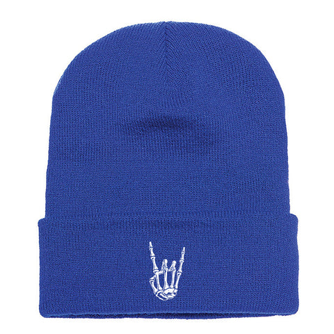 HoggLife Beanie - Royal/White