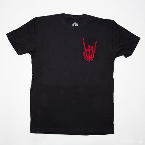 HoggLife Tee - Black/Red