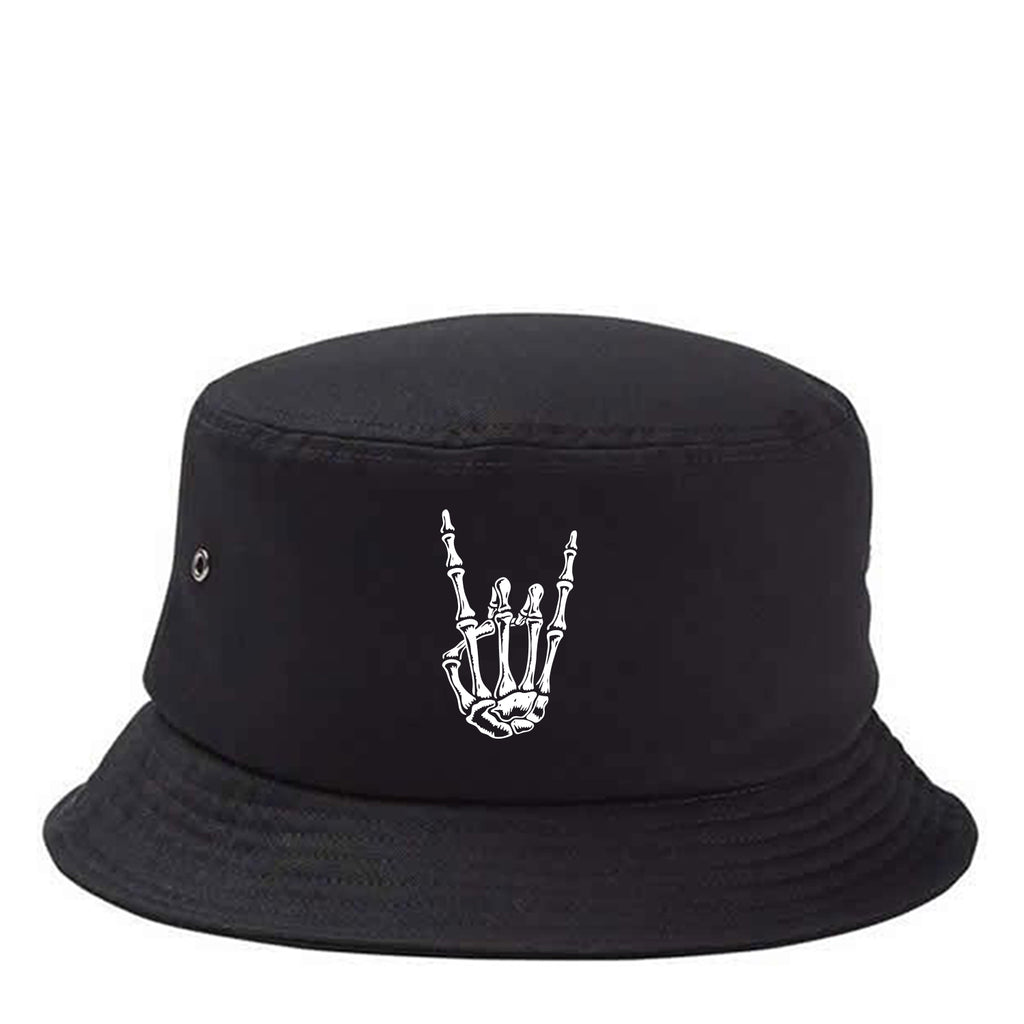 HoggLife Bucket Hat - Black/White