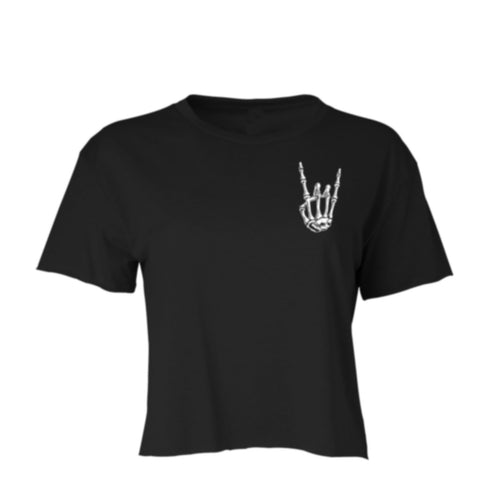 HoggLife Crop Top - Black/Glow