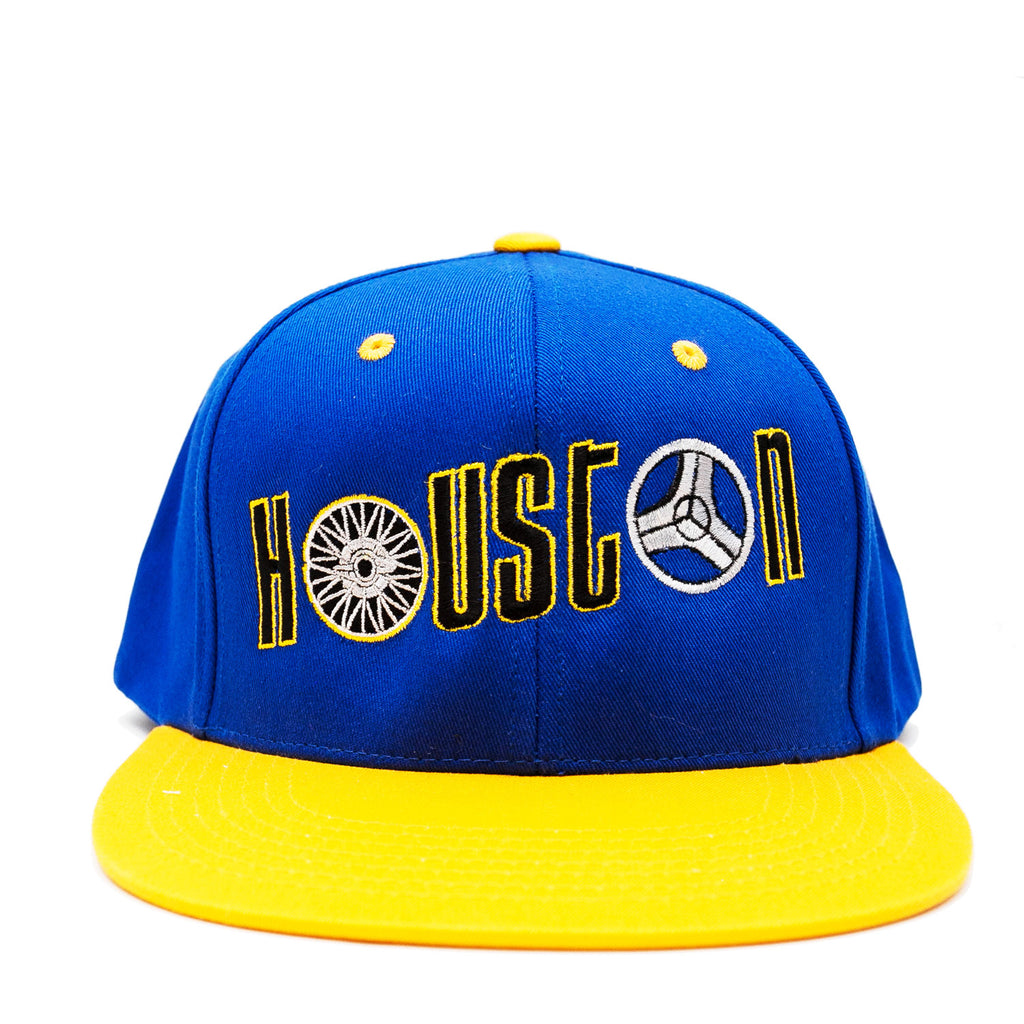 "Hogglife ""Houston"" Snapback - Royal/Multi"