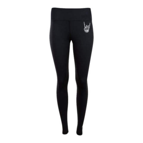 HoggLIfe Leggings - Black/White