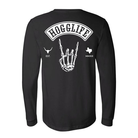 HoggLife Long Sleeve - Black/White