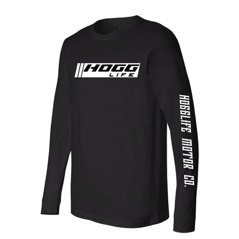 "HoggLife ""Motor"" Long Sleeve - Black/White"