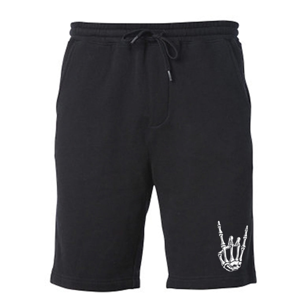 HoggLife Cotton Shorts - Black/White
