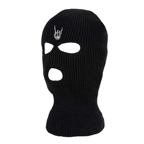 HoggLife Ski Mask -Black/White