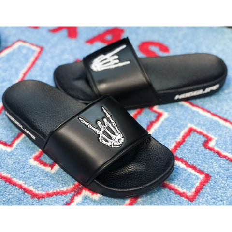 HoggLife Pre School Slides - Black/White
