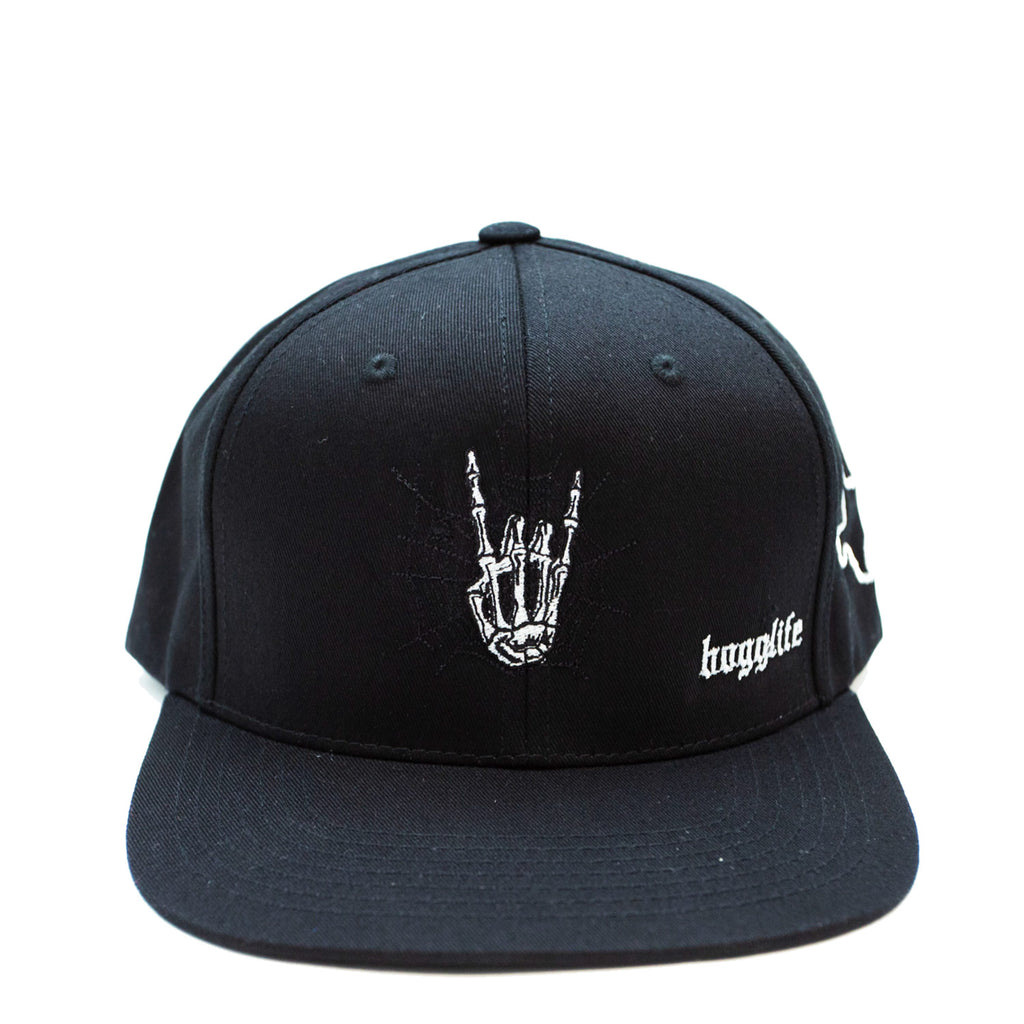 "HoggLife ""Spider"" Snapback - Black/Cool Grey"