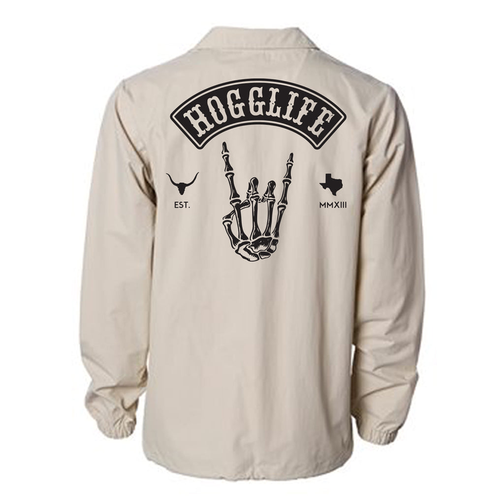 HoggLife WindBreaker - Khaki/Black