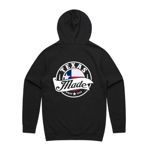 "HoggLife ""TexasMade v3"" Hoodie - Black/Multi"
