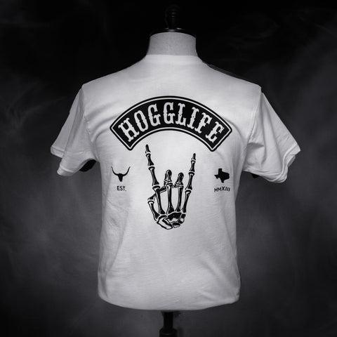 HoggLife Tee - White/Black