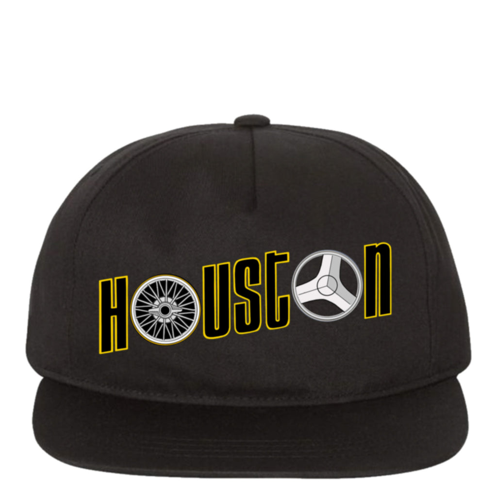 "HoggLife ""Houston"" Snapback - Black/Multi"