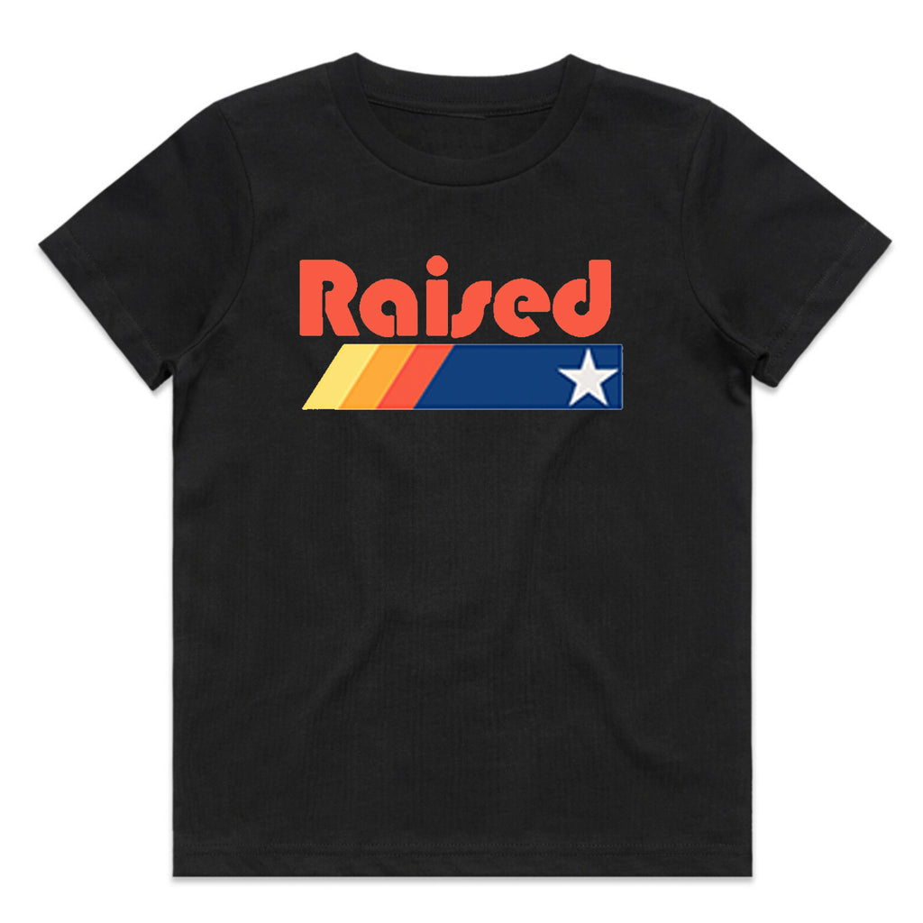 "HoggLife ""Raised"" Kids Tee - Black"