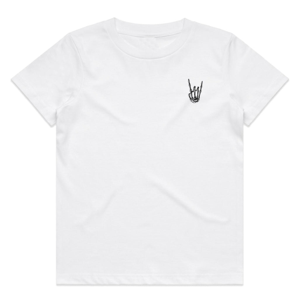 HoggLife Kids Tee - White/Black