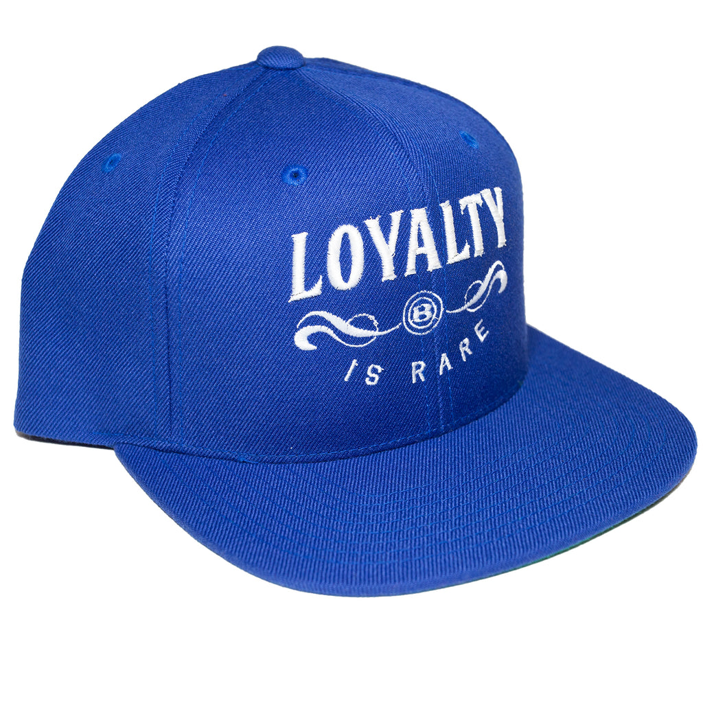 "BossLife ""Loyalty"" Snapback - Royal/White"