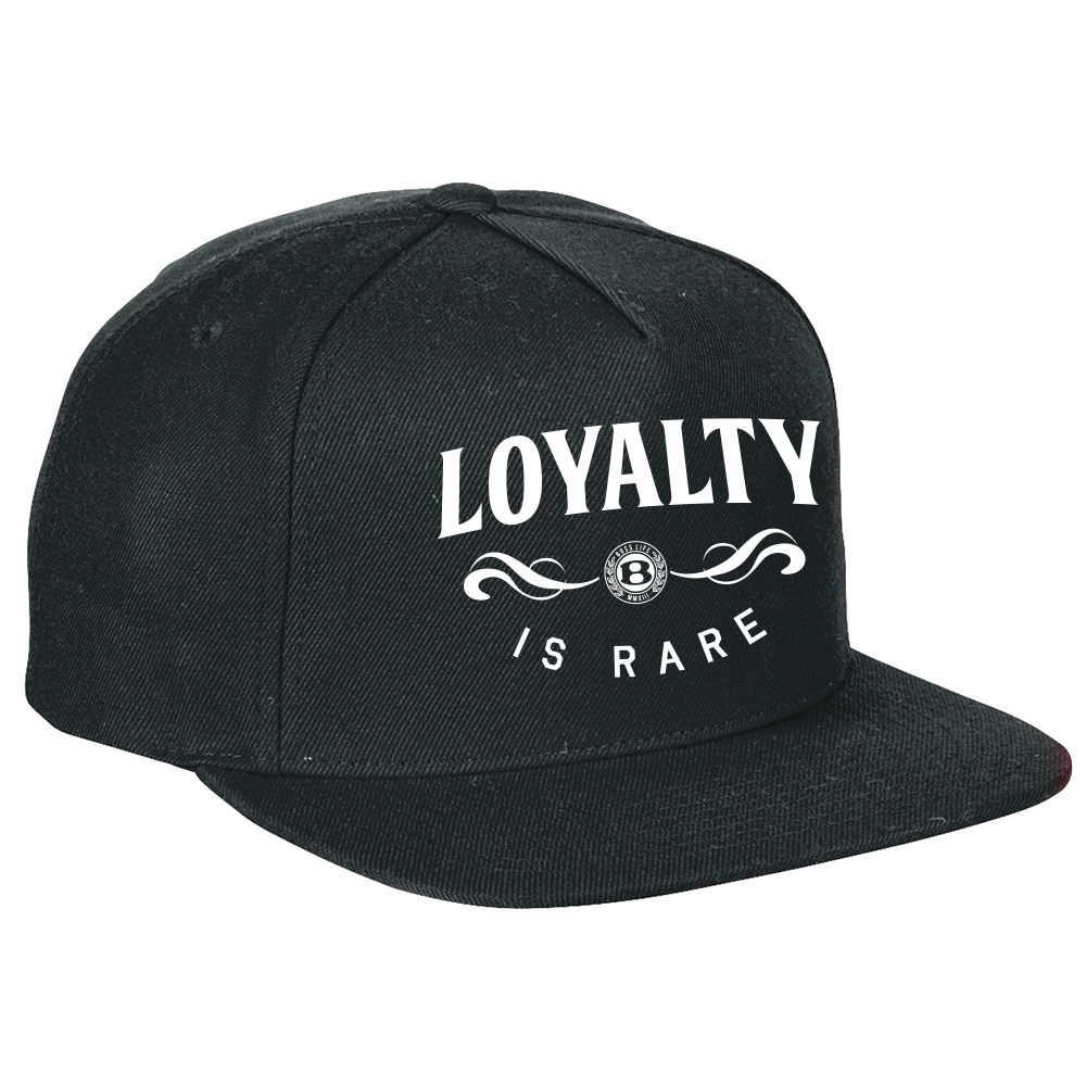 "BossLife ""Loyalty"" Snapback - Black/White"