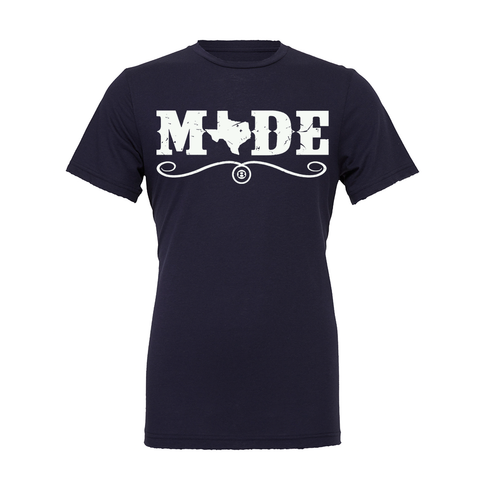 "HoggLife ""Made"" Tee - Navy/White"