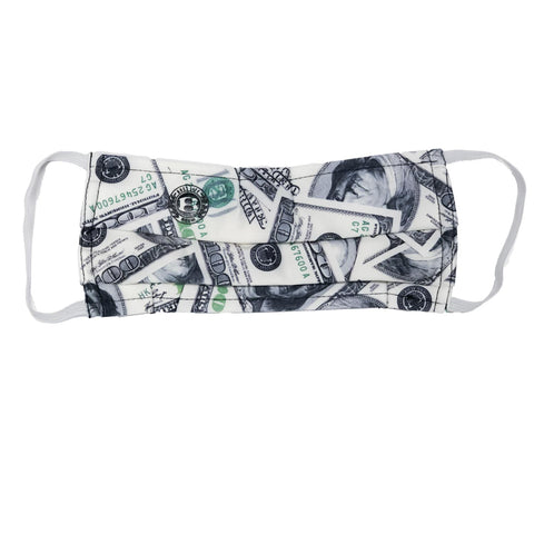"BossLife ""Money"" Face Mask - Multi/Black"