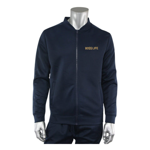 "BossLife ""Flying B"" Track Suit - Navy/Gold"
