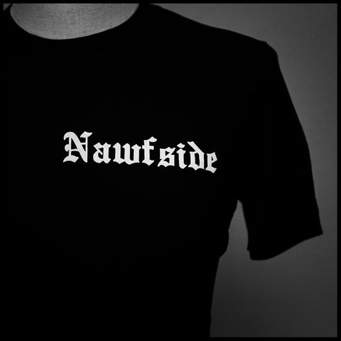 "HoggLife ""NawfSide"" Tee - Black/White"
