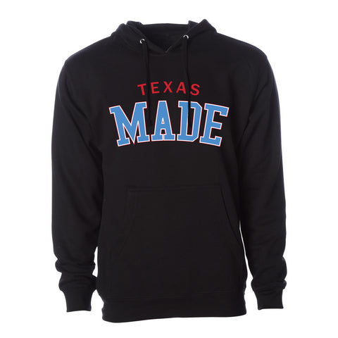 "HoggLife ""Texas Made"" Hoodie - Black/Multi"