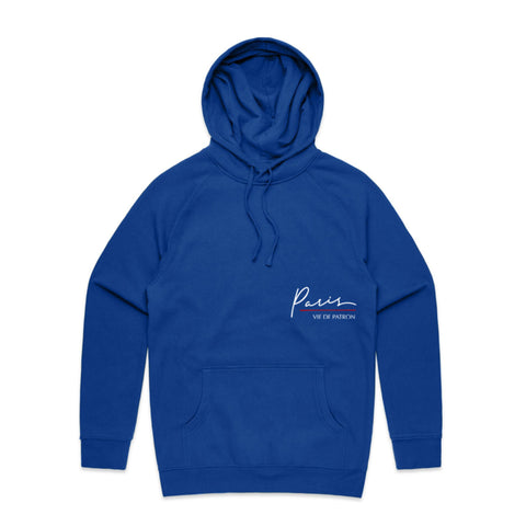 "BossLife ""Paris v2"" Hoodie - Royal/Multi"