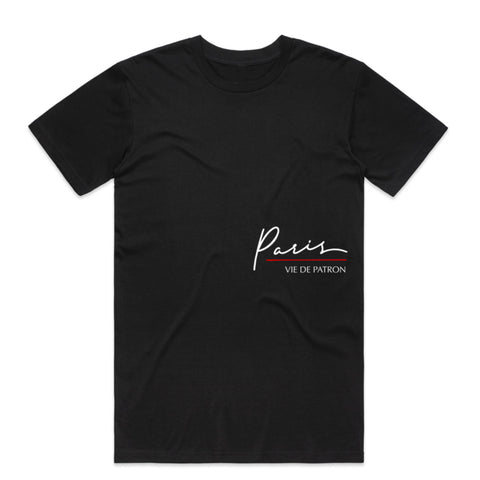 "BossLife ""Paris v2"" Tee - Black/Multi"