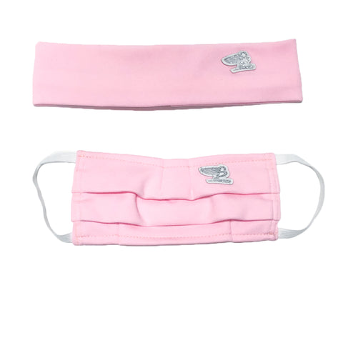 "BossLife ""Flying B"" Face Mask - Pink"