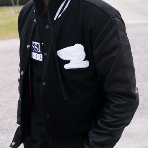 "BossLife ""Flying B"" Letterman Jacket"