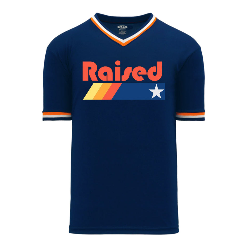 "HoggLife ""Raised"" Jersey - Navy/Orange /Multi"