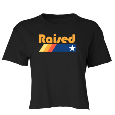 "HoggLife ""Raised"" Crop Top - Black/Multi"