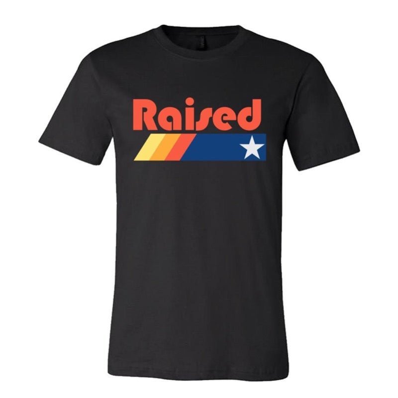 "HoggLife ""Raised"" Tee - Black/Multi"