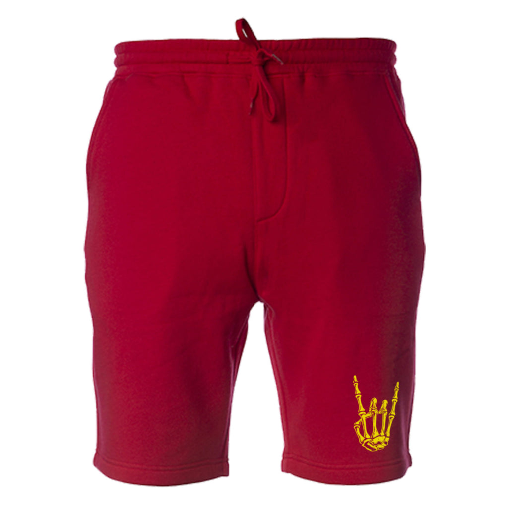 HoggLife Cotton Shorts - Red/Yellow