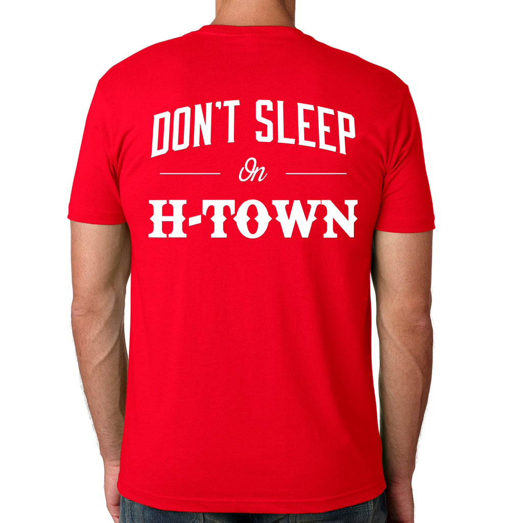 "HoggLife ""Dont Sleep"" Tee - Red/White"