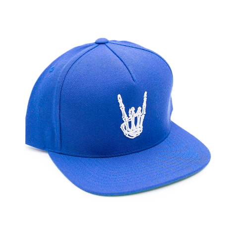 HoggLife Snapback - Royal/White