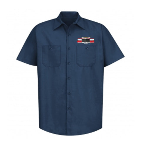 "HoggLife ""Slab"" Work Shirt - Navy/Multi"