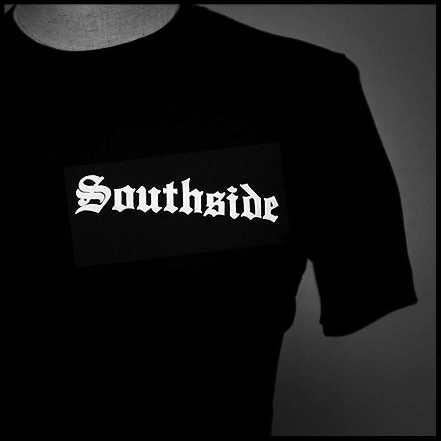 "HoggLife ""SouthSide"" Tee - Black/White - BossLifeWorld  - 1"