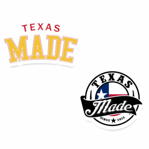 "HoggLife ""Texas Made"" Sticker Pack"