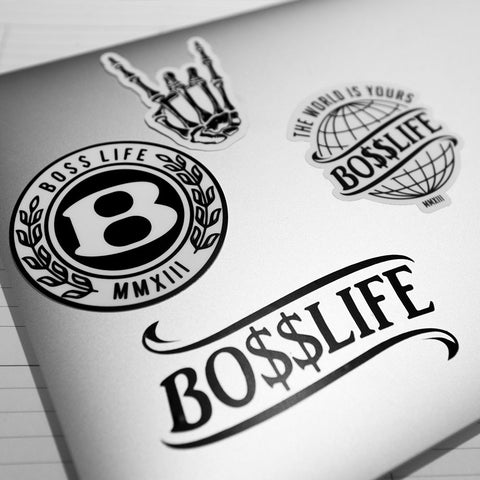 BossLife/HoggLife Sticker Pack