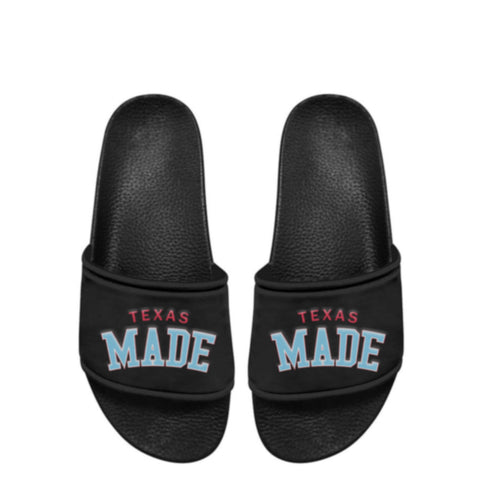"HoggLife ""Texas Made"" Slide - Black/Multi"