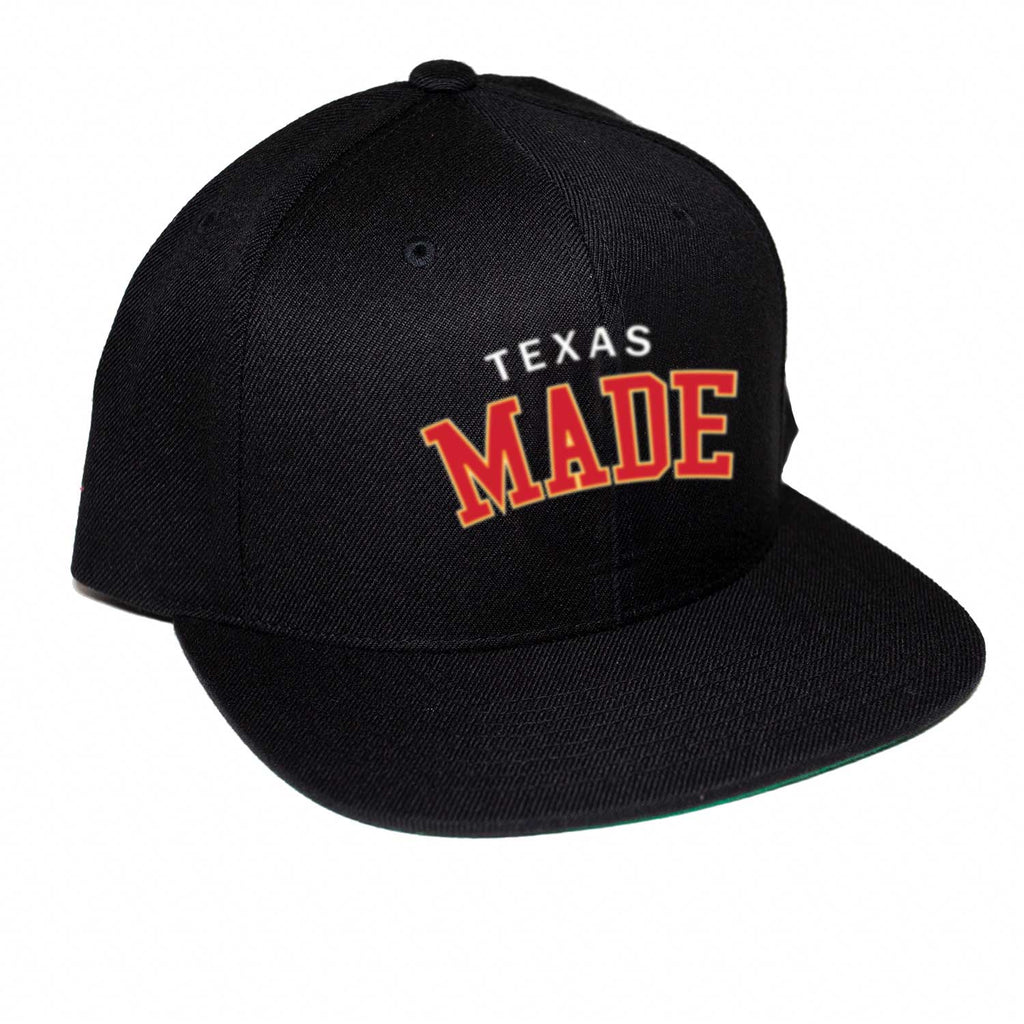 "HoggLife ""Texas Made"" Snapback - Black/Multi"